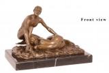 Бронзовая статуэтка - пары