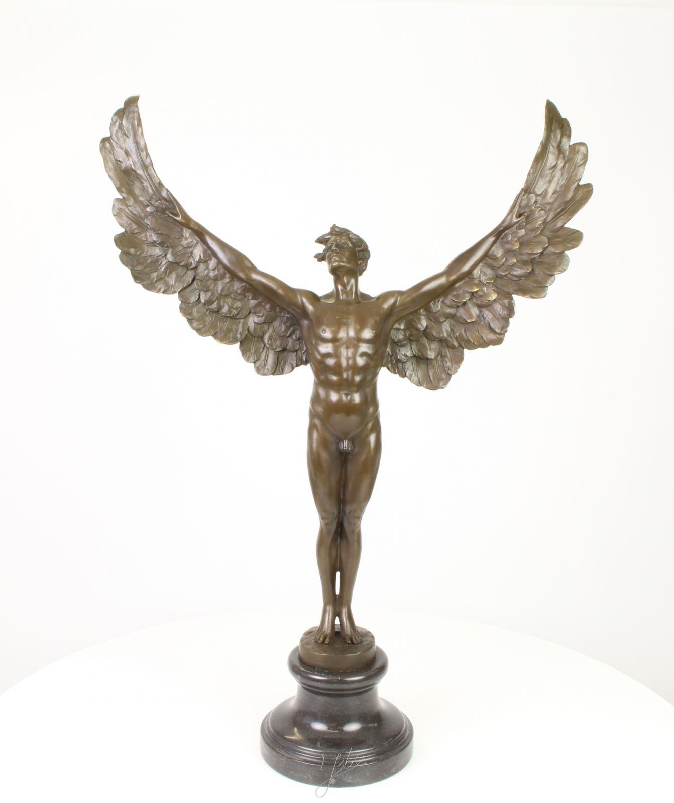 Бронзовая статуэтка ангела Decosite