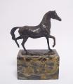 Бронзовая статуэтка - Конь в движении