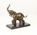 Бронзовая статуэтка - Слон
