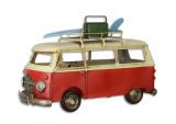Металлическая модель - ретро автобус