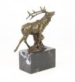 Красный олень из бронзы BrokInCZ