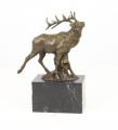 Бронзовая статуэтка -  Красный олень