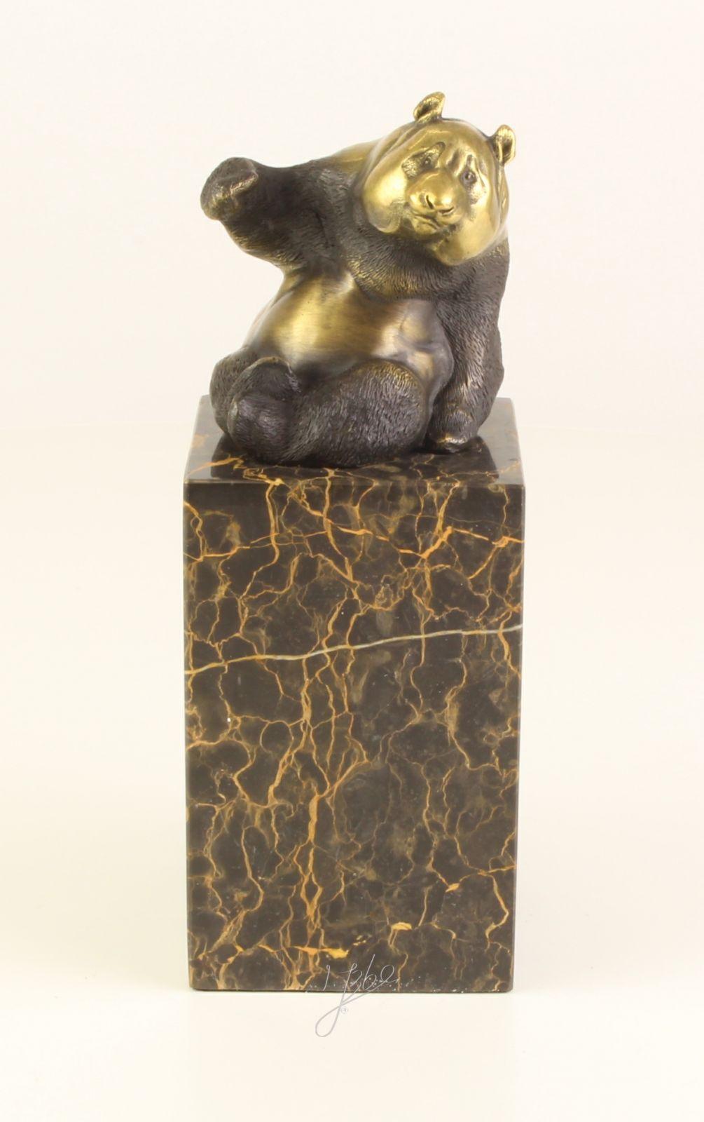 Бронзовая статуэтка - Панда BrokInCZ