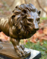 Статуэтка льва из бронзы