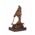 Бронзовая статуэтка - Птица