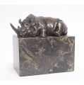 Бронзовая статуэтка - Носорог