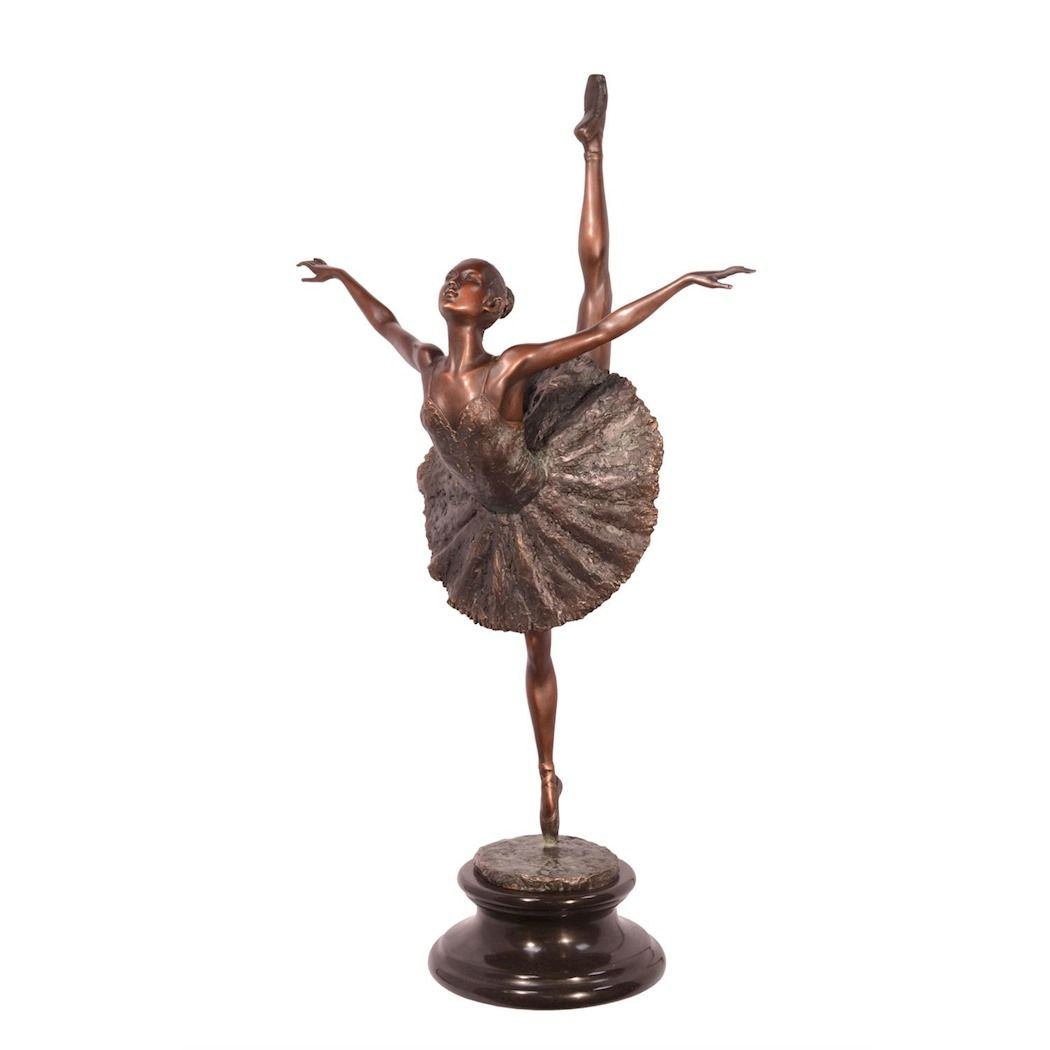Статуя балерины из Венской бронзы