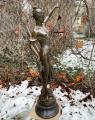 Большая скульптура Правосудия - Фемиды из бронзы