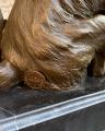 бронзовая фигурка лисы