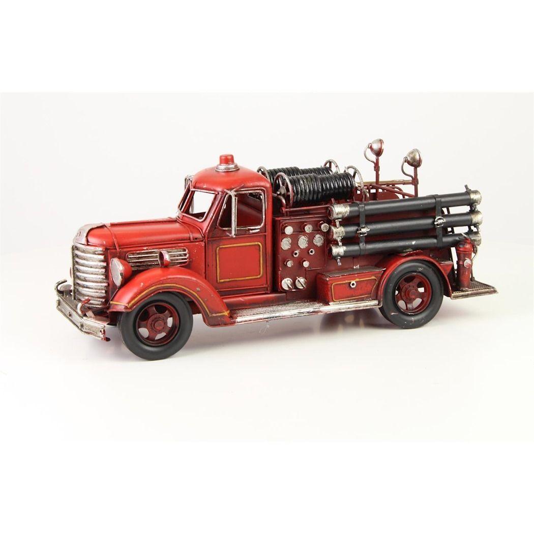 Металлическая пожарная машина 2