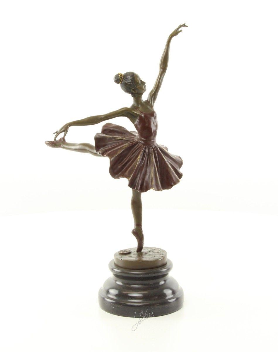 Бронзовая фигурка балерины танцовщицы 5