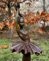 Бронзовая фигурка балерины танцовщицы 6