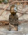 Фигурка мужчины в погружении из бронзы