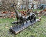 Статуя Животных - Большая пятерка из полирезина